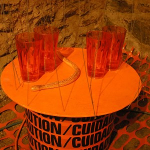 Utility of Obsession: All Things Orange - Installation by BOX 1035 (Alysse Stepanian and Philip Mantione)