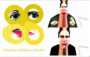 Fish-Eyed Daisy #1 web art by Alysse Stepanian