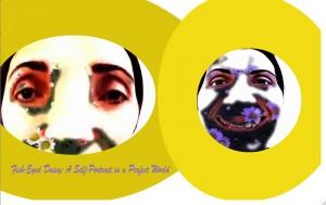 Fish-Eyed Daisy #2 web art by Alysse Stepanian