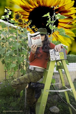 Sunflowers Instead of Missiles by Alysse Stepanian