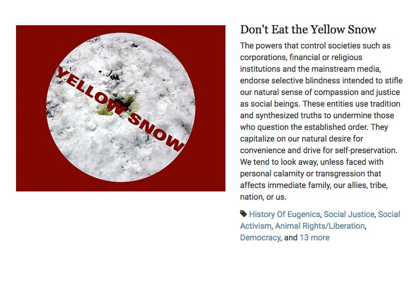 yellow-snow
